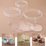 WILTON 15 pc. Cake and Treat Display Set