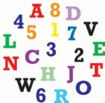 FMM SUGARCRAFT ALPHABET & NUMBERS SET UPPER CASE