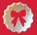 FMM SUGARCRAFT DOUBLE SIDED CUP CAKE CUTTER BOW