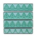FMM SUGARCRAFT TEXTURED LACE SET 3