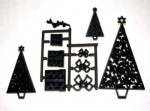 Patchwork Cutter Christmas Trees : Parcels