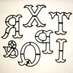 Patchwork Cutter Extra Large Letters