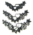 Patchwork Cutter Heart Garland Set