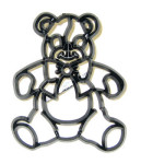 Patchwork Cutter Teddy