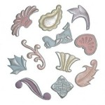 FMM SUGARCRAFT TAPPITS DECORATIVE DESIGN SET